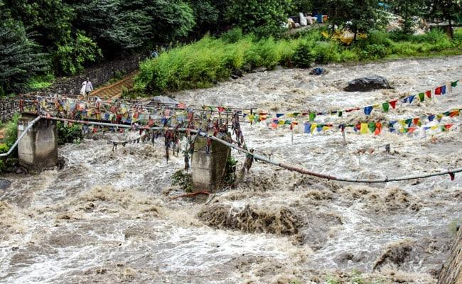 Ganga Water Level Rises Due To Heavy Rainfall In Uttarakhand