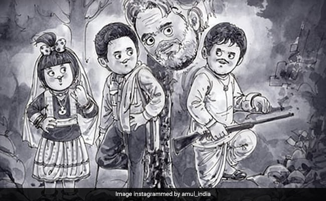 Amul's Moving Tribute To The 'Kohinoor' Of Actors Dilip Kumar