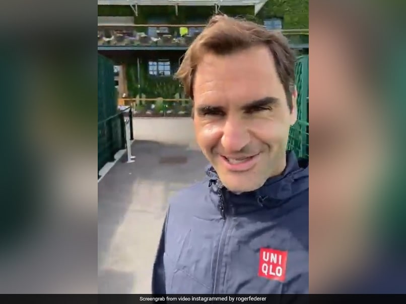 Watch: Roger Federer Takes A Stroll On Last Middle Sunday At Wimbledon, Shares Message With Fans