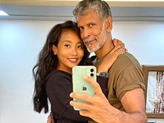 """When Ankita Konwar, """"Crazy In Love"""" With Milind Soman, Felt """"A Little Clingier Than Usual."""" See Pic"""