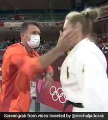 Video: Coach Slaps German Judo Star Before Match