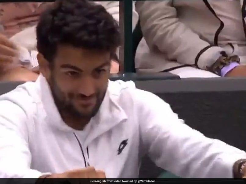 Wimbledon 2021: Watch Nervous Matteo Berrettini See Girlfriend Ajla Tomljanovic Play At Wimbledon