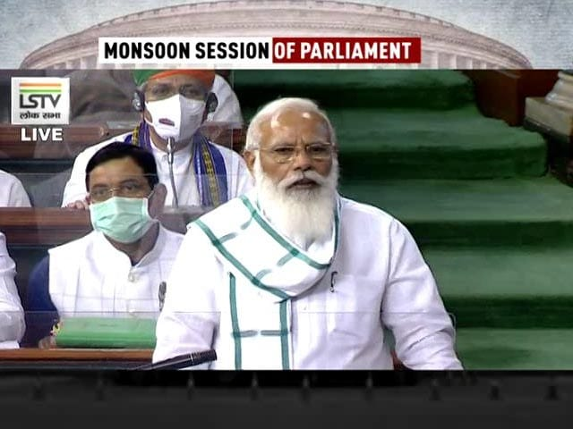 Video : Opposition Slogans As PM Speaks In Parliament, Government Hits Back