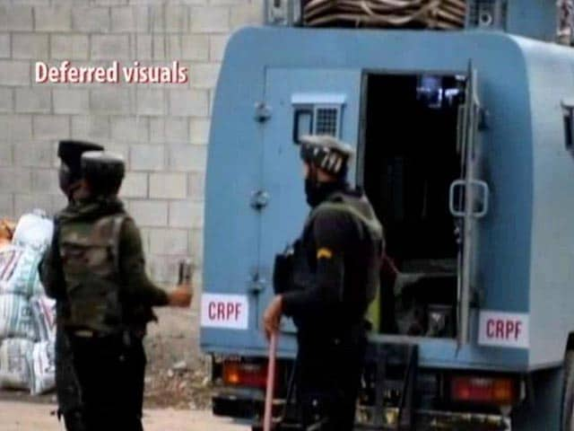 Video : Encounter Breaks Out Between Terrorists And Security Forces In Jammu And Kashmir