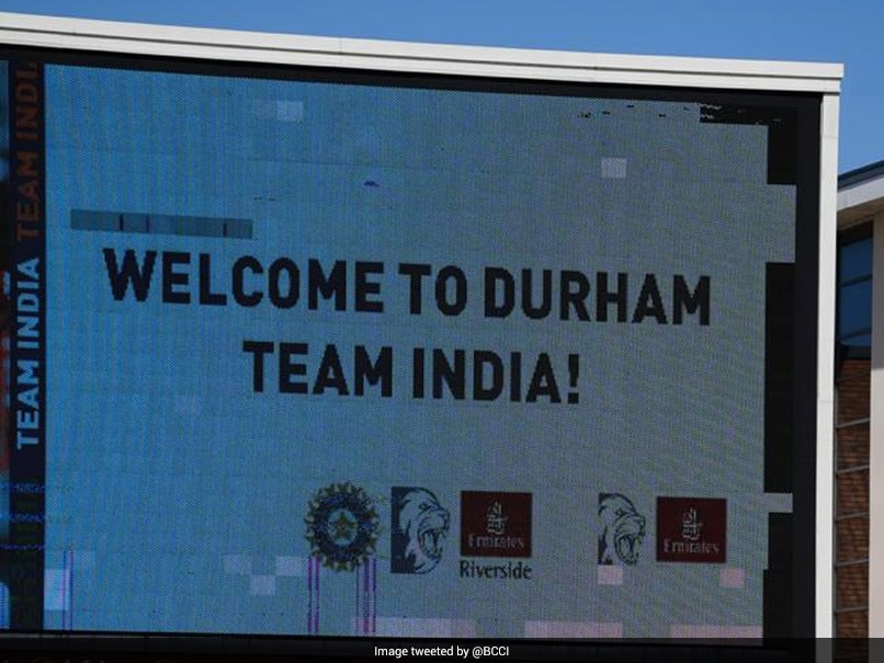 """""""Welcome To Durham"""": Team India Begin Training Ahead Of Warm-Up Match In England"""