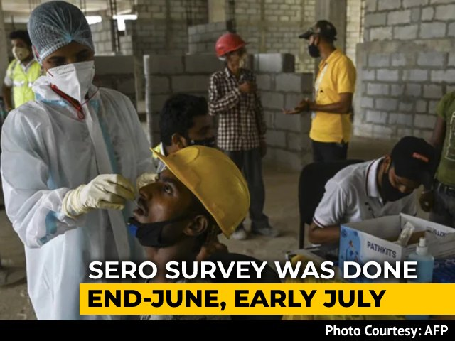 Video : Two-Thirds Of Indians Over Six Have Covid Antibodies: Sero Survey Results
