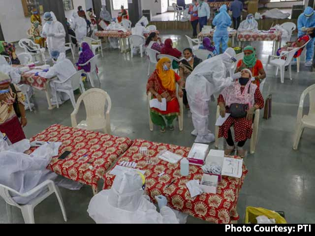 Video : India Records 44,230 Fresh Covid Cases, 555 More Fatalities
