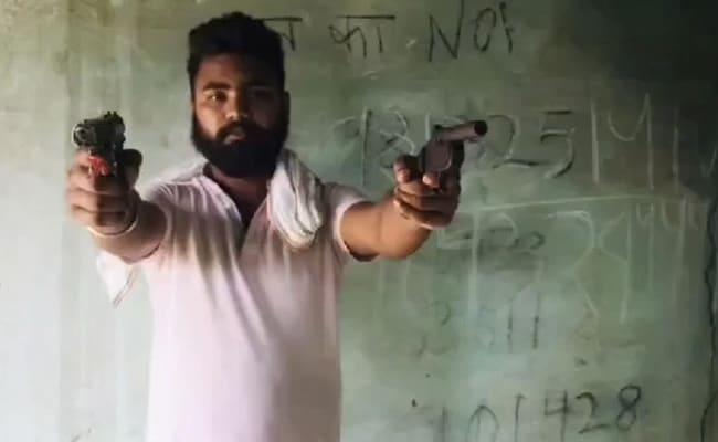 Aspiring 'Don' From Uttar Pradesh Gets Jail Time For Brandishing Guns In Viral Video