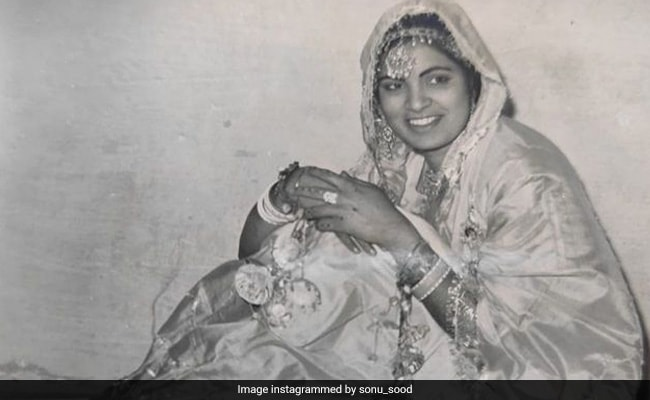 Sonu Sood Shares Throwback Gold On Mother's Birth Anniversary