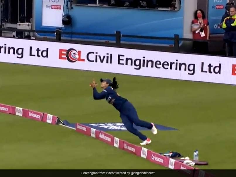 Watch: Harleen Deols Catch Goes Viral. Easy To See Why.