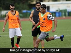 """""""Count Me In Next Time"""": Virat Kohli Reacts To All-Stars Football Match ft MS Dhoni, Shreyas Iyer"""