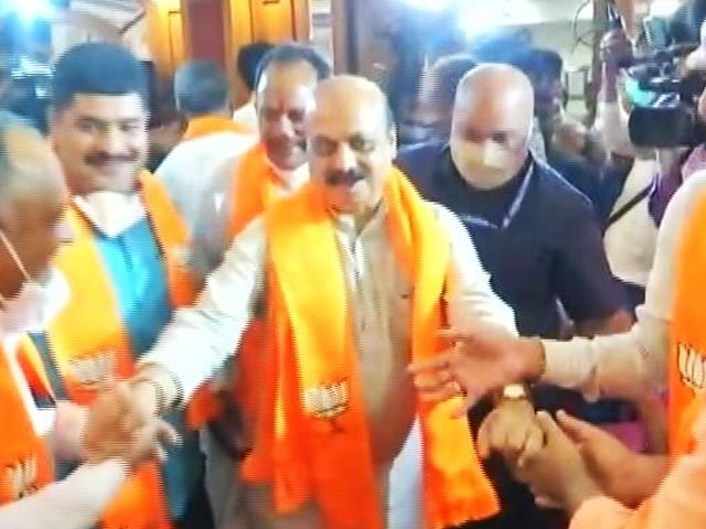 "Video : ""Never Expected It"": New Karnataka Chief Minister Basavaraj Bommai To NDTV"