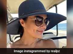 Alia Bhatt And Preity Zinta Are Making The Black Sun Hat This Season's Hottest Celebrity Fashion Accessory