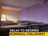 Video : Delhi Government To Seek Feedback From Teachers, Parents On Reopening Of Schools