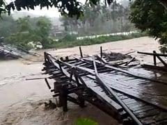 Bridge In Meghalaya's South Garo Hills District Washed Away Amid Heavy Rain