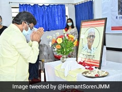 Jharkhand Chief Minister Pays Tributes To Stan Swamy In Memorial Service