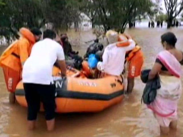 Video : Heavy Rain In North And Coastal Karnataka