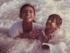 On Brother Siddharth's Birthday, Priyanka Chopra Digs Out An Adorable Beach Pic From Her Childhood