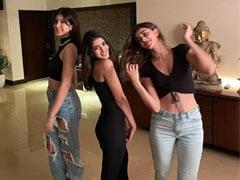 Ananya Panday, Navya Nanda And Shanaya Kapoor's TGIF Mood In Pics
