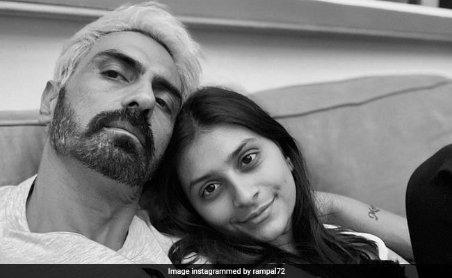 Arjun Rampal Gives Us A Glimpse Of The Bond He Shares With Daughter Mahikaa