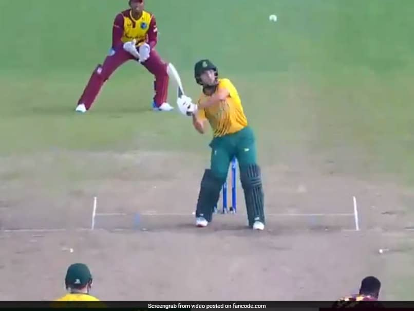 """Watch: AB De Villiers, Dale Steyn React To Umpiring """"Shocker"""" In West Indies-South Africa T20I"""