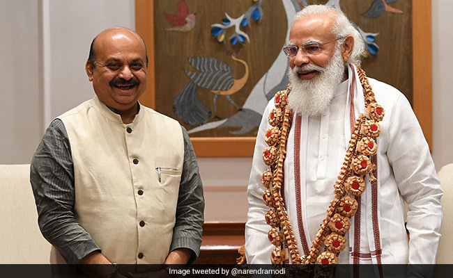 Basavaraj Bommai Meets PM, Seeks Approval For AIIMS In Hubballi-Dharwad