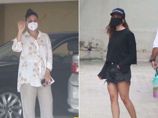 Video : Kareena, Alia And Nora Fatehi's Day Out In Mumbai