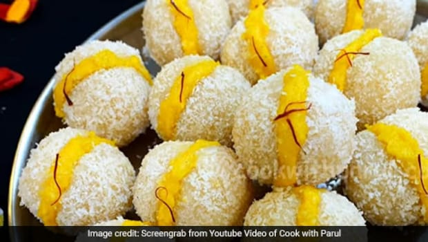 Nariyal Malai Ladoo: Our Childhood Favourite Ladoo With A Creamy Twist Of Malai To It