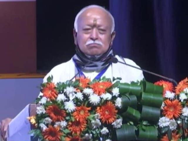 Video : Citizenship Act, Assam List Will Not Harm Muslims: RSS Chief Mohan Bhagwat