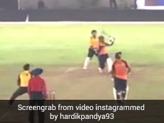 """Throwback Video Of Young Hardik Pandya Smashing Sixes Is """"Absolute Fire"""""""