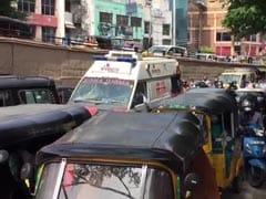 Ambulances Stuck Due To VIP Convoy, Hyderabad Traffic Police Criticised