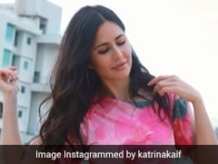 Katrina Kaif In A Pink Tie-Dye Mini Dress Can Brighten Any Of Our Dull Days