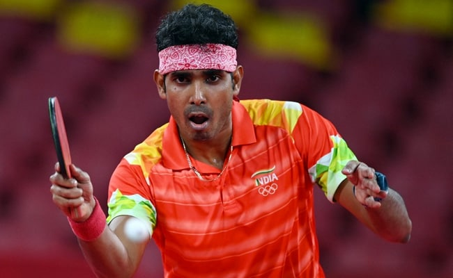 Tokyo Olympics Indian table tennis player Sharath Kamal loses to Chinas Ma Long in mens singles Round 3 match