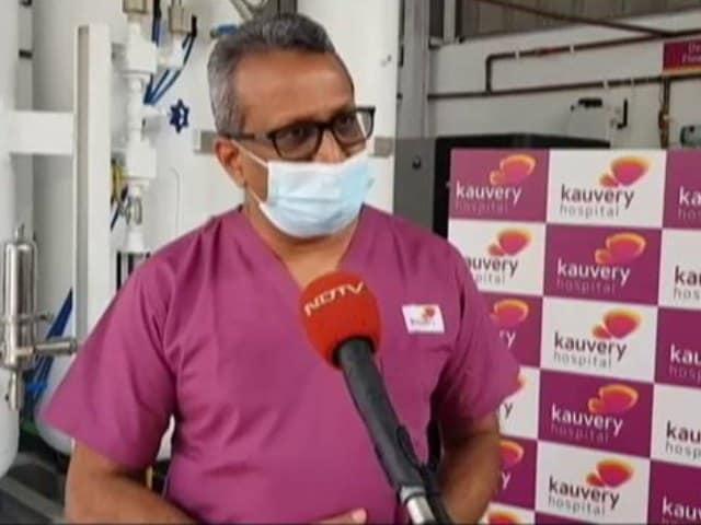 Video : Chennai's Kauvery Hospital Turns 100% Oxygen Self Reliant With Oxygen Generators