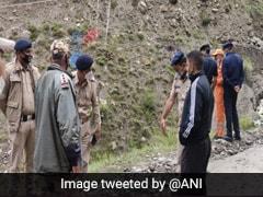 Flash Flood Damages Six Bridges In Himachal Pradesh's Lahaul-Spiti