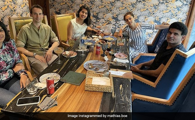 Taapsee Pannu's Boyfriend Mathias Boe Celebrates His Birthday With The Actress, Her Sister And Friends