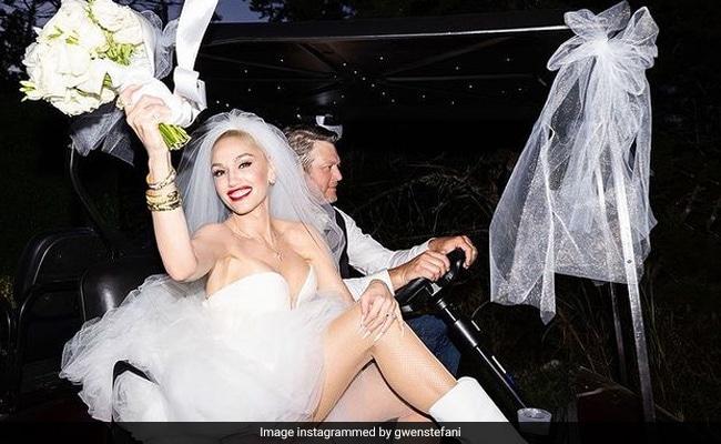 Trending Pics From Gwen Stefani And Blake Shelton's Wedding