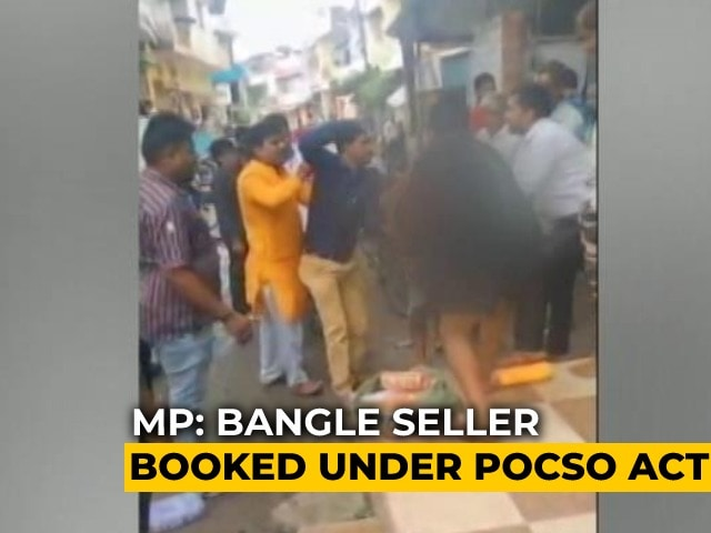 Video : Child Abuse Case Against Bangle Seller Beaten Up By Mob