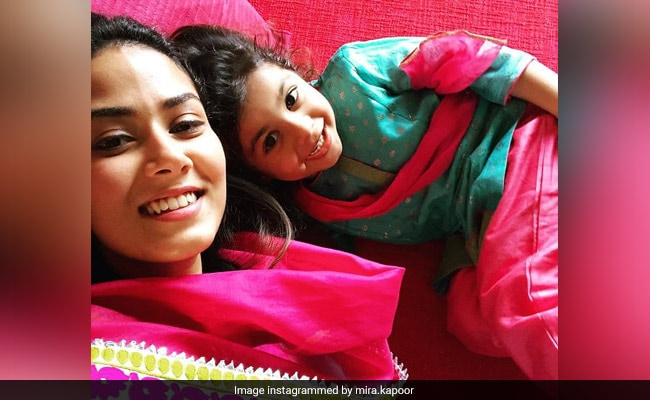 Misha, 5 Today, Received The Sweetest Wish From Mom Mira Rajput