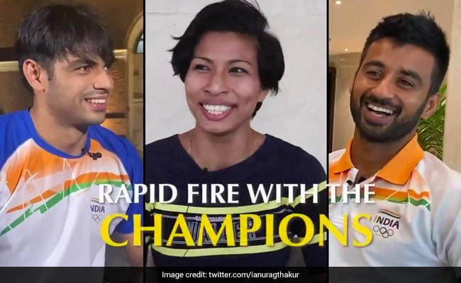 One Thing That Scares Olympic Medallists? Find Out In This Rapid Fire Round
