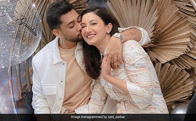 To Birthday Girl Gauahar Khan, With Love From Husband Zaid Darbar