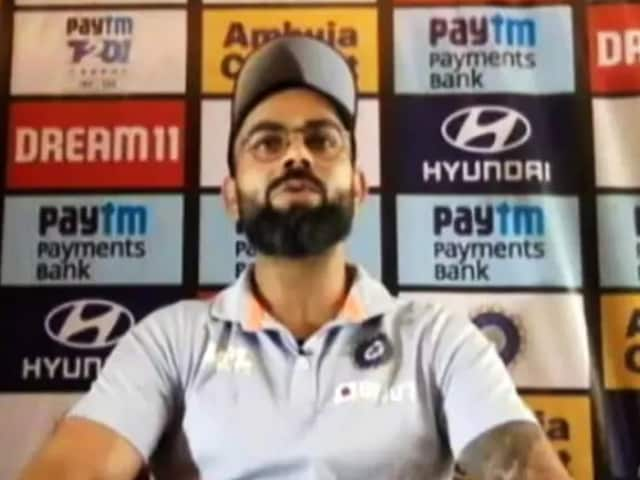 """Video : Tokyo Paralympics: Virat Kohli Sends """"Best Wishes And Support"""" To Team India"""