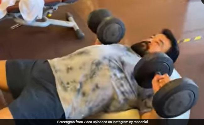 What Prithviraj Sukumaran Wrote About Mohanlal's Workout Video