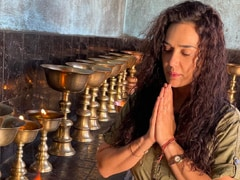 """""""Time Just Stopped"""" For Preity Zinta Inside The Taktok Monastery In Ladakh. See Pics And Video"""