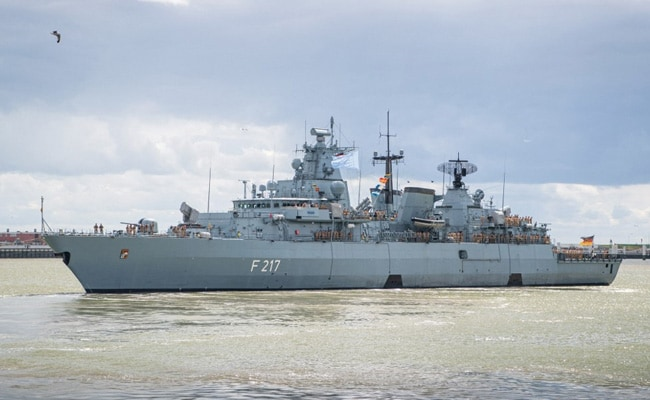 Germany Sends Warship To South China Sea Amid Tension With Beijing