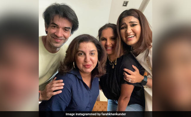 What Happened When Farah Khan Met Sania Mirza And Friends After Over A Year