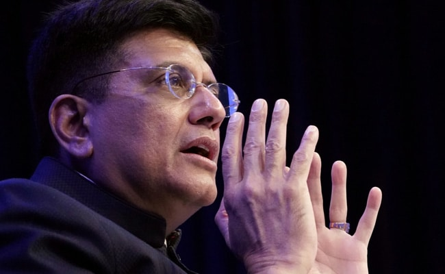 World Now Looks At India As Driving Force In World Economy: Piyush Goyal