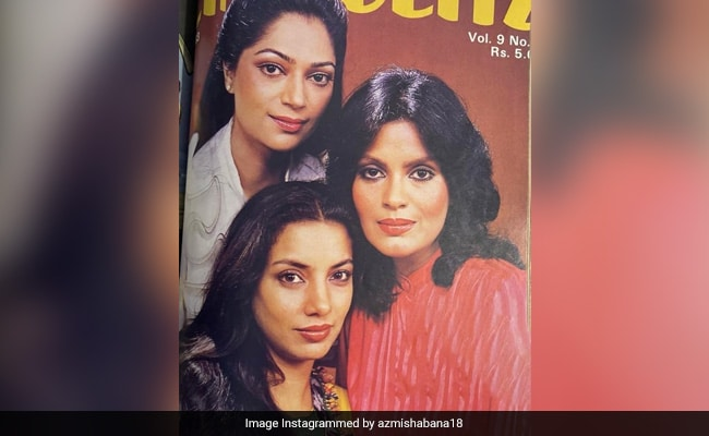 Shabana Azmi Tried To Look 'Sultry' On Magazine Cover With Zeenat Aman And Simi Garewal But...