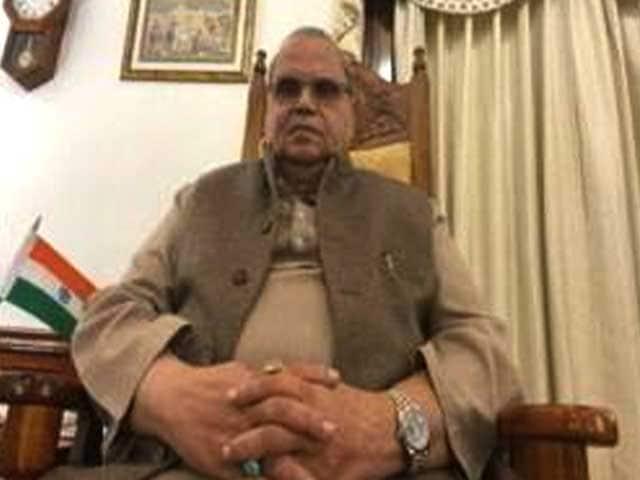 Video : Meghalaya Governor Slams Haryana Chief Minister Over Farmers' Protests