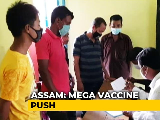 Video : Assam Turns Poll Booths To Covid Vaccine Points To Cover Those Left Out